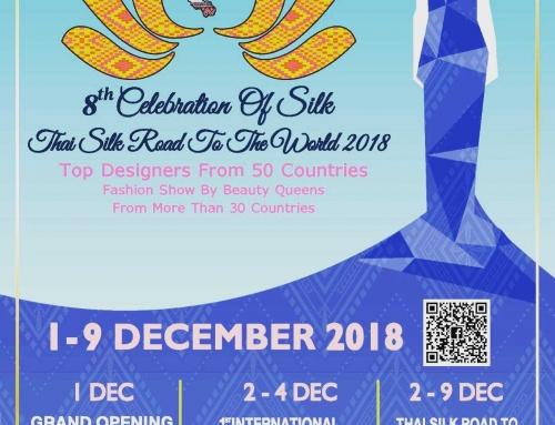 Young Danish Fashion Designer showcases styles at Celebration of Silk and Bangkok Thai Silk Fashion Week 2018| 1-9 December 2018